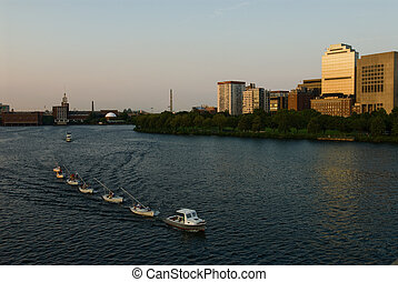 Sailors on the Charles
