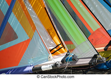 Sails - The multicolred sails