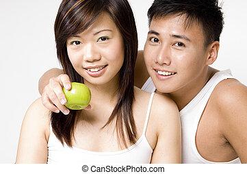 sain, couple, 2