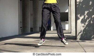 sain, fitness, exercice, aérobic