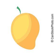 sain, frais, mangue, fruit