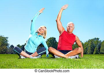 sain, gymnase, lifestyle., fitness