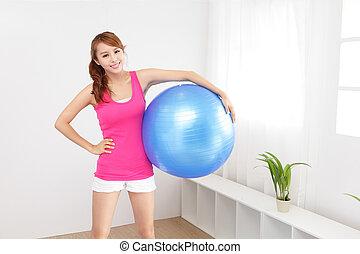 images et photos de girl pilates d sinvolte balle 207 images et photographies libres de droits. Black Bedroom Furniture Sets. Home Design Ideas