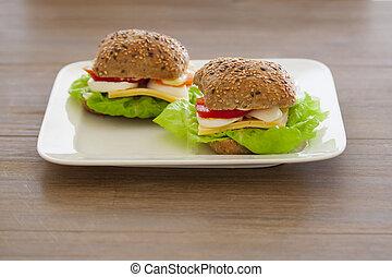 sain, sandwich
