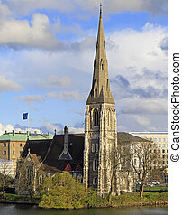 Saint Alban's Church in Copenhagen