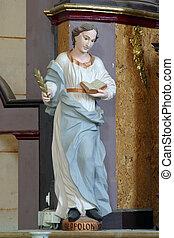 saint, apollonia