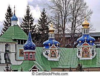 Pskovo-Pechersky monastery - Saint-Assumption Pskovo-...