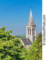 Saint Ausone Church in Angouleme, France