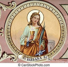 saint, barbara