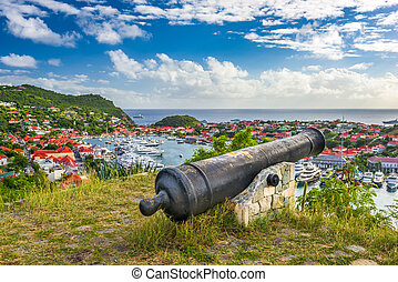Saint Barthelemy in the Caribbean
