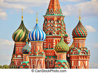 Saint Basils Cathedral, Moscow, Russia - Saint Basil's ...