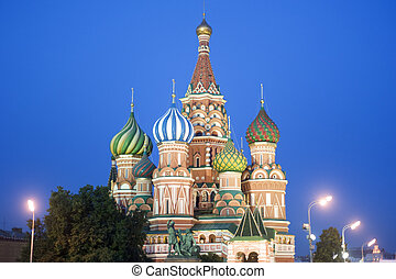 Saint Basil\'s cathedral, Moscow