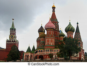 Saint Basil's Cathedral Red Square