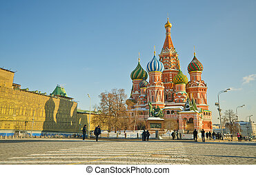 Saint Basil's Cathedral, Russia - Saint Basil's Cathedral, ...