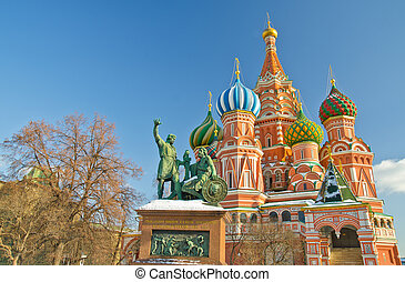 Saint Basil's Cathedral, Russia - Saint Basil's Cathedral,...