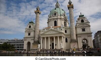(saint, church), wiener, karlskirche, charles's