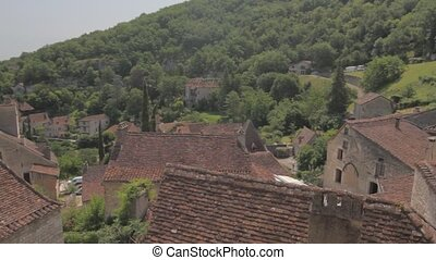 Saint-Ciry-Lapopie, France - Native Material, straight out...