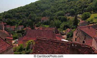 saint-ciry-lapopie, frankreich