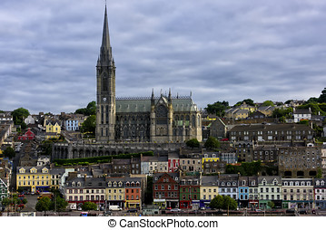 Saint Colmans Cathedral in Cobh, Ireland