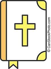saint, couleur, bible, icône