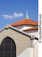 saint-cyrile, kirche