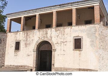 Saint Donato Gate in Lucca, Italy