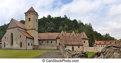 Saint Donatus - ancient Red Cloister (slovak: Cerveny...