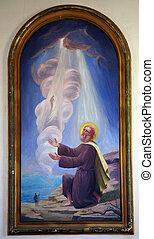 Saint Elijah, The Church Stella Maris, mountain Karmel,...