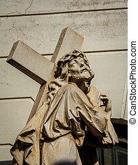 saint, et, croix, cimetière recoleta