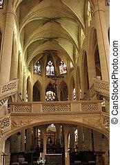 Saint Etienne du Mont Church, Paris.