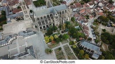 saint-etienne, limoges, cathédrale, france