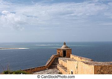 Saint Filipes Fortress in Setubal, Portugal