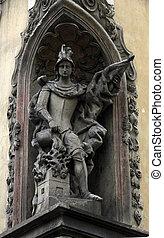 Saint Florian, patron of firemen