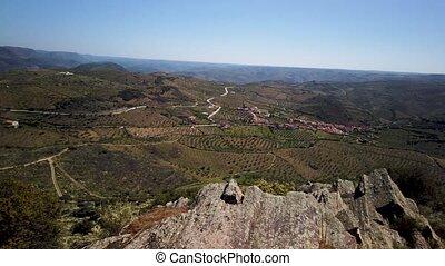Saint Gabriel's Church viewpoint surrounding landscape, Vila...