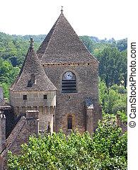 Saint Genies, Church, House, Village