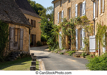 Saint Genies is a lovely village in Perigord, Dordogne, France