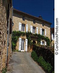 Saint Genies, Street, House, Village