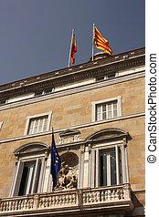 Saint George, Generalitat Palace. Barcelona