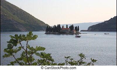 Saint George island, Montenegro, Bay of Kotor