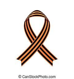 Saint George ribbon icon.