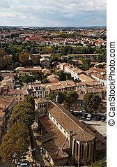 Saint Gimer's Church in Carcassonne - Image of the Saint...