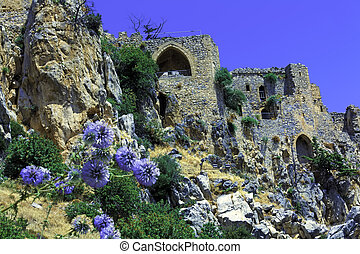 Saint Hilarion Castle, Kyrenia, Cyprus - Saint Hilarion ...
