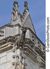 Saint Hubert chapel at Royal Chateau at Amboise