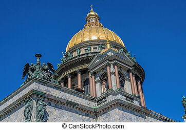 Saint Isaac's Cathedral in St Petersburg Russia
