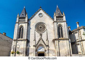 Saint Jacques Church in Cognac, France