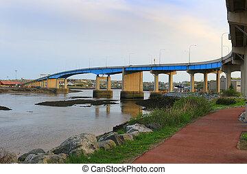 saint john, miasto, most