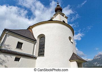 Saint John the Baptist church in Haus, Austria.