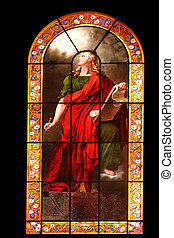 Saint John the Evangelist, stained glass