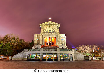 Saint Joseph's Oratory of Mount Royal, a Roman Catholic...