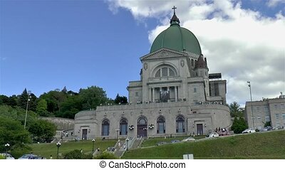Saint Joseph's Oratory of Mount Royal, in Montreal, Canada.